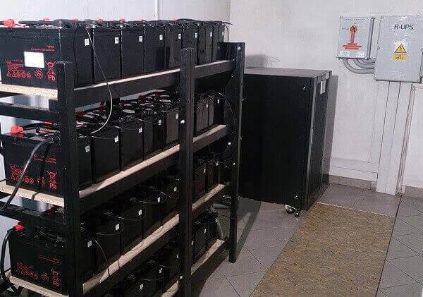 UPS Agpower ETX 60 wraz z systemem BACS